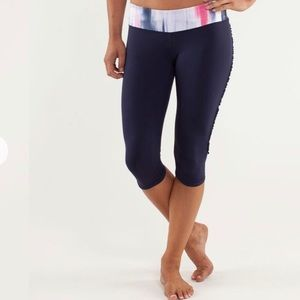 Lululemon Ruffles Crop Leggings